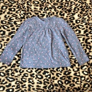 Toddler Girls Long Sleeve Shirt